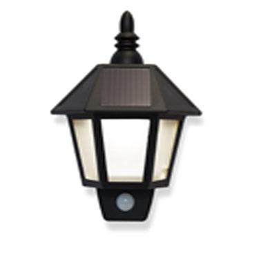 מנורה סולארית עם חיישן תנועה