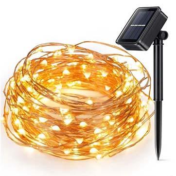 אנרגיה סולארית חוט נחושת חוט אור