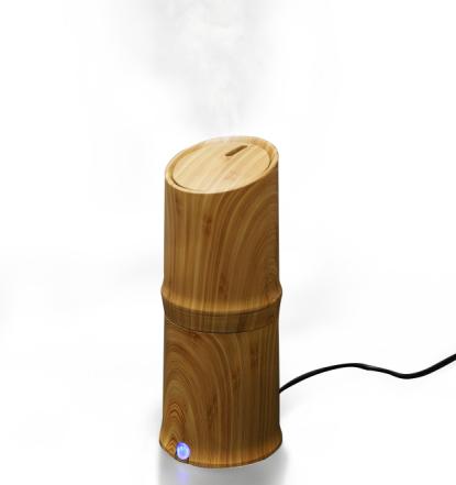 300ml מגניב לחות לחות אדים Ultrasonic Aroma Essential שמן מפזר עבור Office דף הבית חדר שינה חדר לימוד יוגה ספא - עץ גרגרים